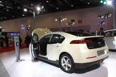 Chevrolet-volt witte auto royalty-vrije stock foto's