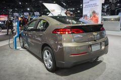 Chevrolet-Voltauto op vertoning stock foto's