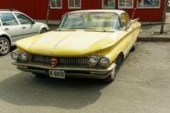 Chevrolet w kolorze żółtym Fotografia Royalty Free