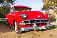 Chevroleta bel air 1954 Fotografia Royalty Free
