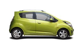 Chevrolette Spark Royalty Free Stock Photography