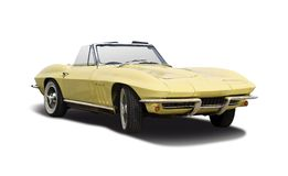 Chevrolette Stingray 1965 Royalty Free Stock Images