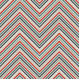 Chevron abstract background. Retro seamless pattern with classic geometric ornament. Zigzag horizontal lines wallpaper. Chevron diagonal stripes abstract vector illustration