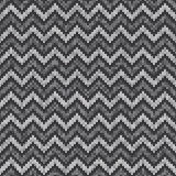 Chevron Abstract Knitted Pattern. Vector Seamless Knitting Wool Sweater Design Royalty Free Stock Photography
