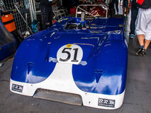 Chevron B23. Historic racing car photographed during Brno Grand Prix Revival event on 5 July 2014 in Automotodrom Brno, Czech Republic Royalty Free Stock Photos
