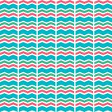 Chevron background, design seamless pattern blue, green. Red stock illustration