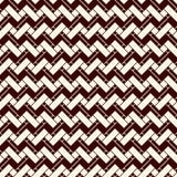 Chevron barra il fondo Modello senza cuciture di retro stile con l'ornamento geometrico classico Lo zigzag allinea la carta da pa Immagine Stock Libera da Diritti
