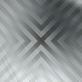 Chevron Brushed Metal Background Stock Photography