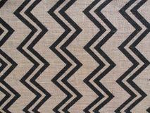 Chevron Burlap Fabric Vertical Royalty Free Stock Photos