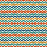 Chevron stripes background. Bright seamless pattern with classic geometric ornament. Zigzag horizontal lines wallpaper. Chevron diagonal stripes abstract Stock Illustration
