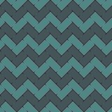 Chevron stripes background. Retro style seamless pattern with classic geometric ornament. Blue colors zigzag lines vector illustration