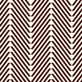 Chevron abstract background. Tribal and ethnic seamless pattern with repeated zigzag lines. Classic geometric ornament. Chevron diagonal stripes abstract stock illustration