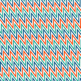 Chevron diagonal stripes background. Seamless pattern with classic geometric ornament. Bright zigzag lines wallpaper. Royalty Free Stock Photo
