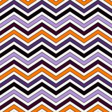 Chevron diagonal stripes background. Seamless pattern in Halloween traditional colors. Zigzag horizontal lines wallpaper. Chevron diagonal stripes abstract Royalty Free Stock Images