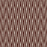 Chevron diagonal stripes seamless pattern with classic geometric ornament. Outline zigzag lines wallpaper. Stock Photo