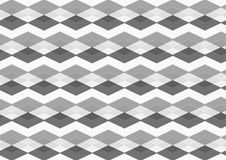 Chevron diamond Black, Gray and White Seamless Patterns. Geometric Overlay Layers Vector background Royalty Free Stock Images