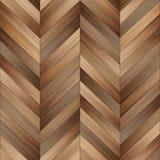 Chevron en bois sans couture de texture de parquet brun clair images libres de droits