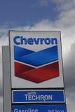 CHEVRON GAS Royalty Free Stock Photo