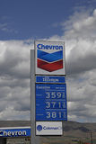 CHEVRON GAS Royalty Free Stock Images