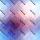 Chevron geometric pattern on blurred blue Stock Photo