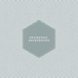 Chevron geometric pattern texture background. Stock Photos
