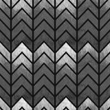 Chevron géométrique sans couture abstrait d'aquarelle Photo libre de droits