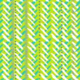 Chevron hand painted vector seamless pattern Stock Photo