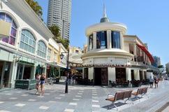 Chevron het Winkelen Centrum Gouden Kust Queensland Australië Stock Fotografie