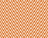 Chevron horizontal alaranjado e branco brilhante fino listrado Textured Imagens de Stock