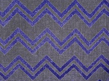Chevron Neon Burlap Fabric Horizontal Royalty Free Stock Images