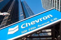 Chevron Oil Stock Images