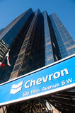 Chevron Oil Stock Photography
