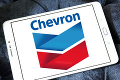 Chevron oil company logo