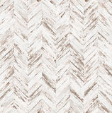 Chevron old painted parquet seamless floor texture Stock Photography