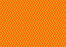 Chevron orange photo libre de droits