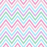 Chevron pastel colorful spring pink blue purple green turquoise. Pattern seamless vector vector illustration