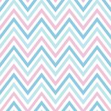 Chevron pastel colorful spring pink white blue pattern seamless royalty free illustration
