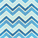 Chevron pattern in blue Stock Image