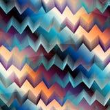 Chevron pattern on gradient background Royalty Free Stock Photo