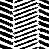 Chevron pattern hand drawn Stock Image