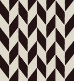 Chevron pattern. Illustration of seamless chevron geometric black and white pattern Royalty Free Stock Image