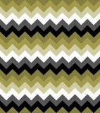 Chevron pattern seamless vector arrows  design colorful black white grey green Stock Photo
