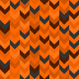 Chevron pattern seamless vector arrows  design colorful orange brown grey Royalty Free Stock Images