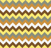 Chevron pattern seamless vector arrows  design colorful yellow beige brown grey Royalty Free Stock Photo