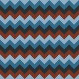 Chevron pattern seamless vector arrows geometric design colorful aqua blue naval dark blue dark red brown Royalty Free Stock Images