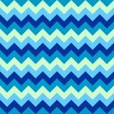 Chevron pattern seamless vector arrows geometric design colorful aqua light dark naval blue nautical Stock Photo