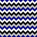 Chevron pattern seamless vector arrows geometric design colorful black white grey naval blue Stock Image