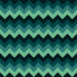 Chevron pattern seamless vector arrows geometric design colorful dark green turquoise teal aqua blue Royalty Free Stock Image