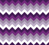 Chevron pattern seamless vector arrows geometric design colorful purple lilac white magenta grey Royalty Free Stock Images