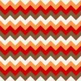 Chevron pattern seamless vector arrows geometric design colorful white coral pink red grey Stock Image